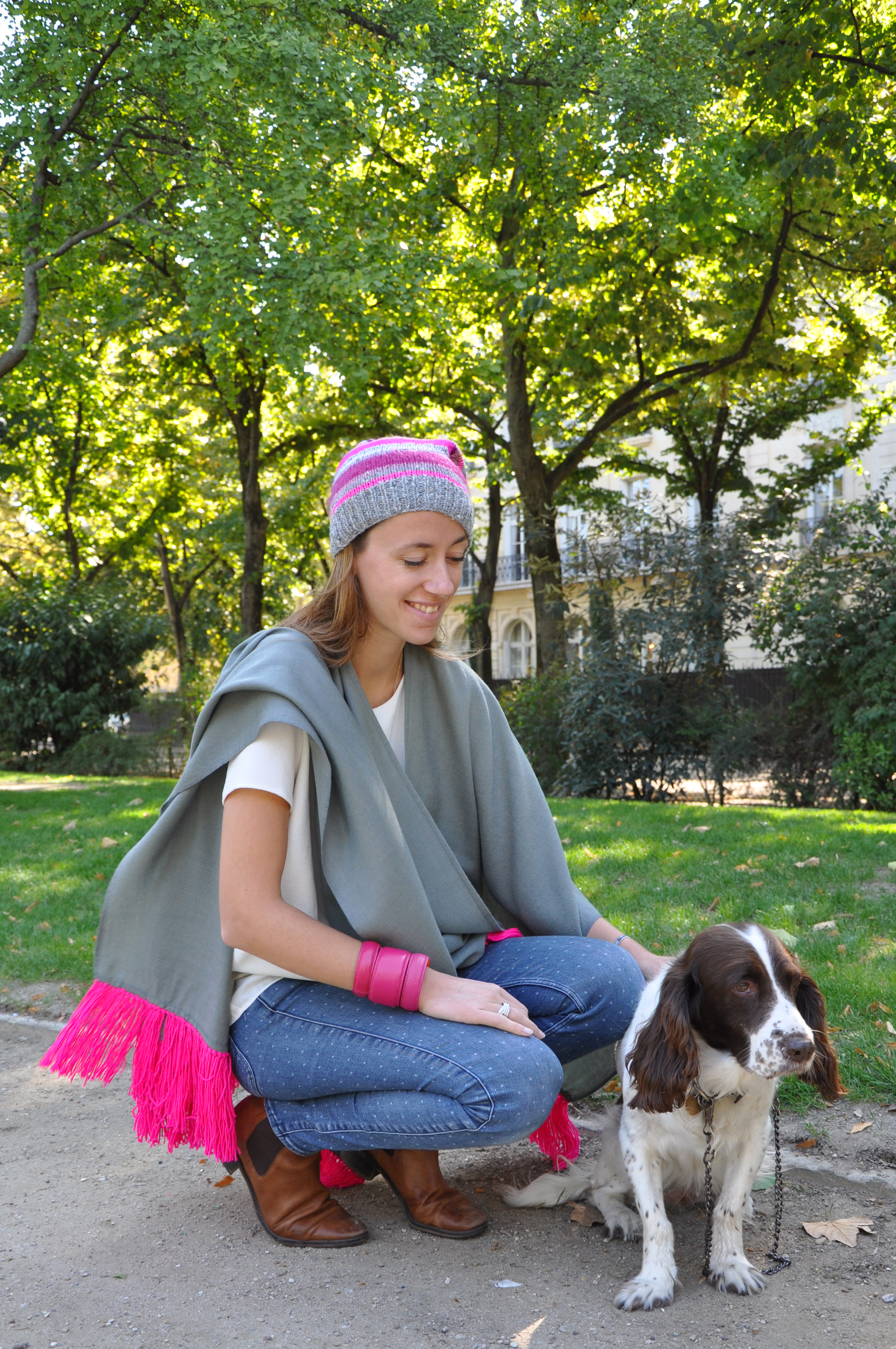 poncho-bonnet