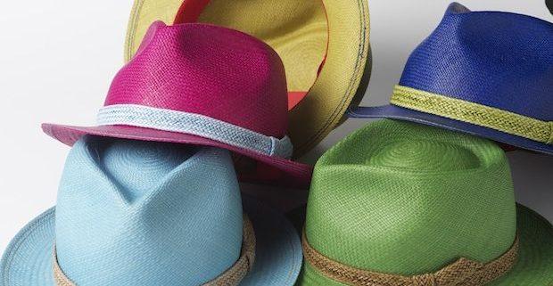 panamas multicolores